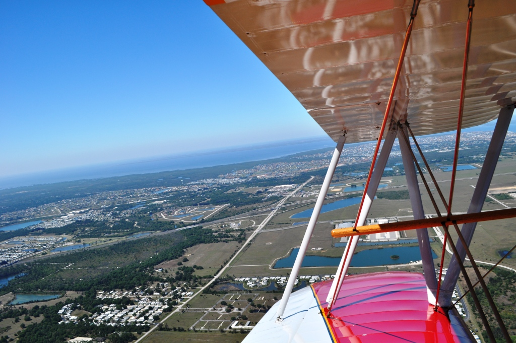 View of Punta Gorda, Florida, as Viewed from a Biplane.