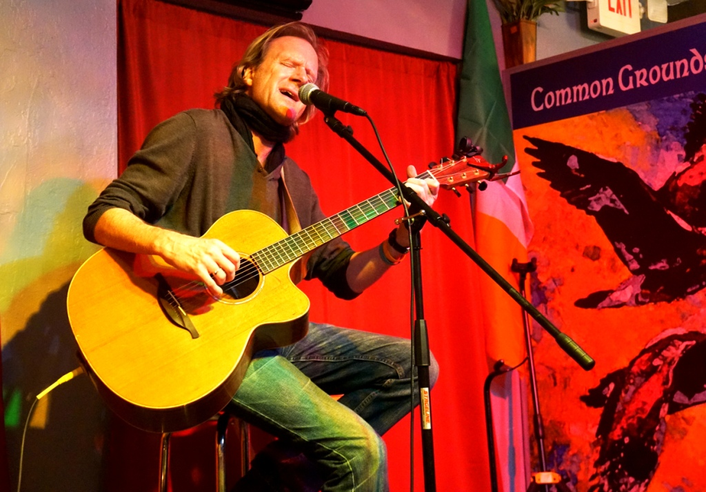 Artist Rupert Wates Performed at Common Grounds Meeting Hall in North Port, Fla.