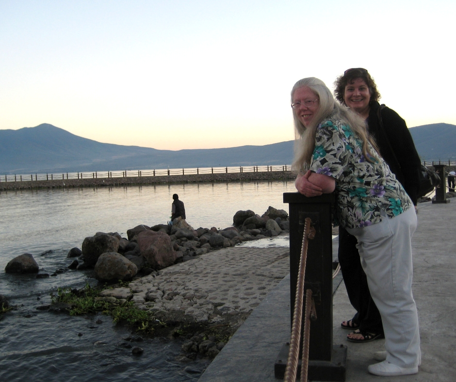 Barb and Me in Mexico, Nov. 2008