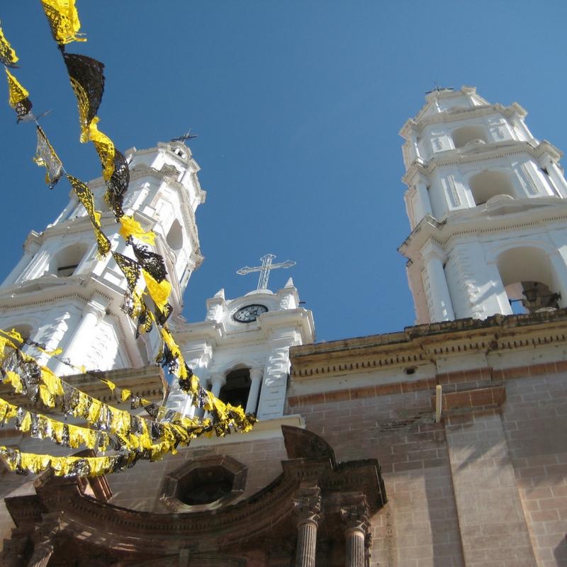 A Church in Jalisco, Mexico, Nov. 2008.
