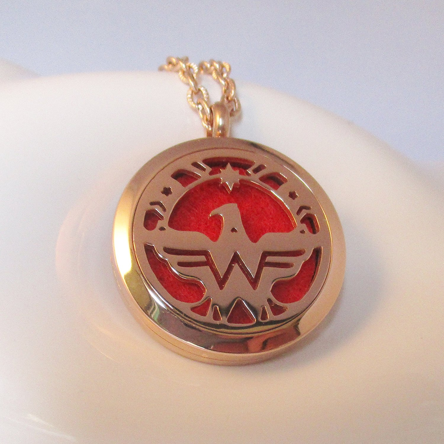 Wonder Woman Diffuser Necklace