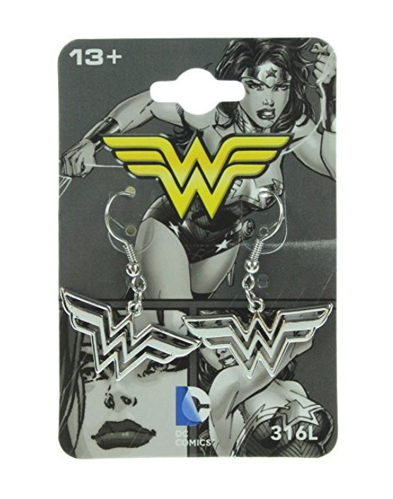 Wonder Woman Earrings - Surgical Stainless Steel