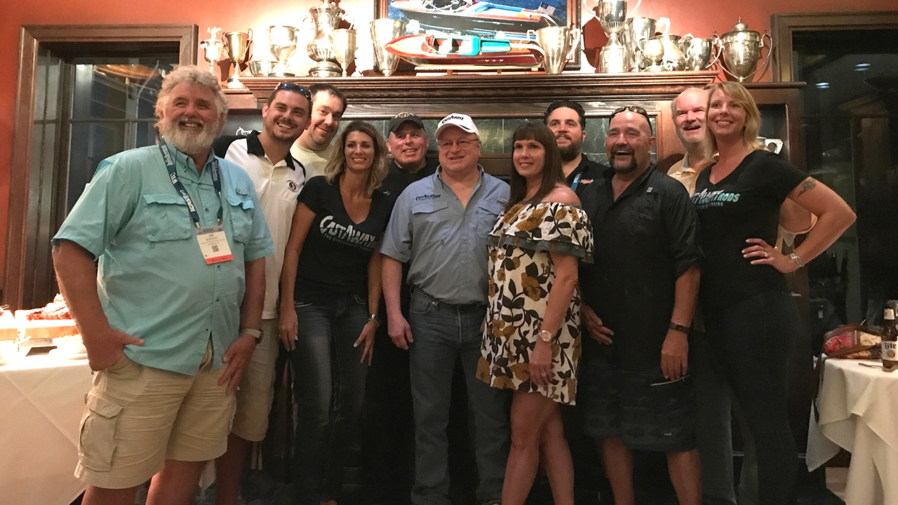 ICAST 2017: CastAway Rods Team with Mark Chestnutt.