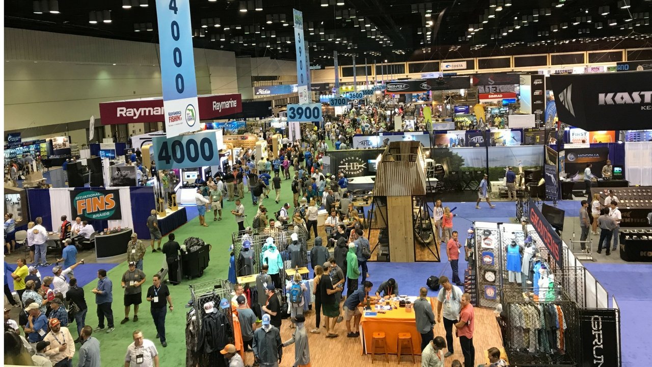 The ICAST Show Floor is HUGE! July 2017