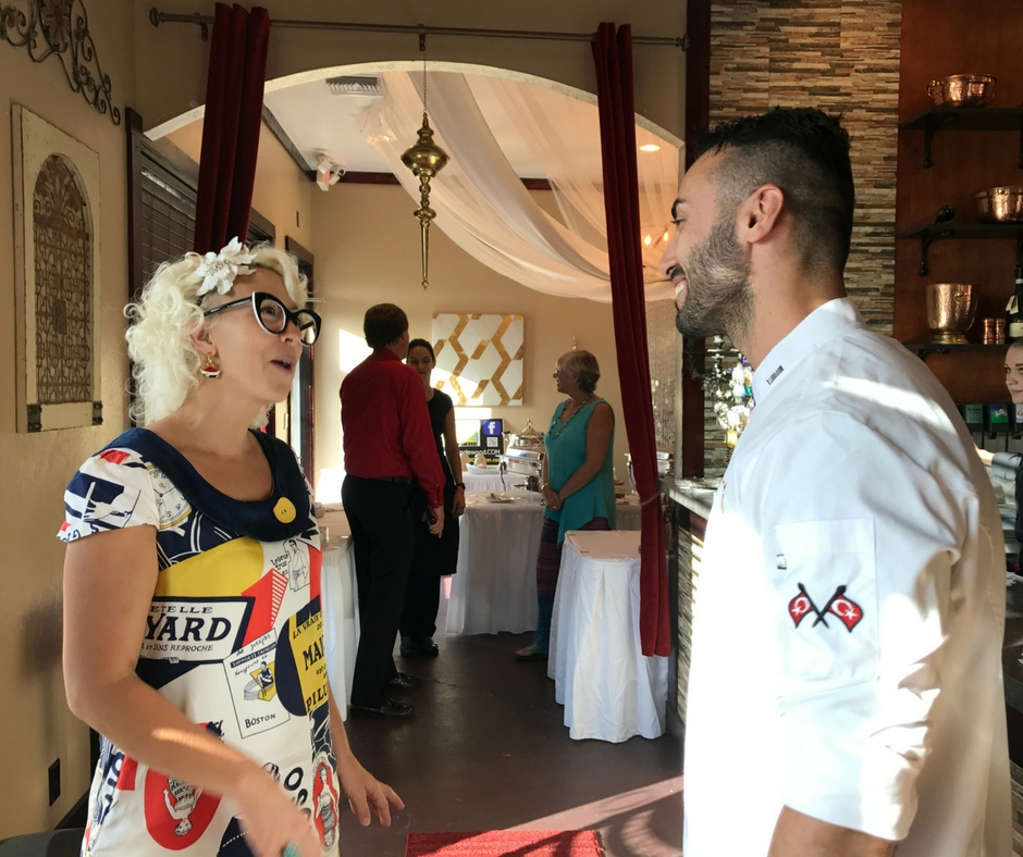 Emily Ellyn Speaks with Burak Çak?r, Co-Owner of Ephesus Mediterranean Grill.