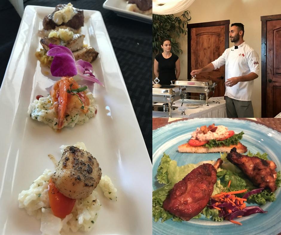 Let's Eat! - Englewood Restaurant Week, Englewood, Florida. (L-R - Leverock's, Ephesus, SandBar Tiki & Grille)