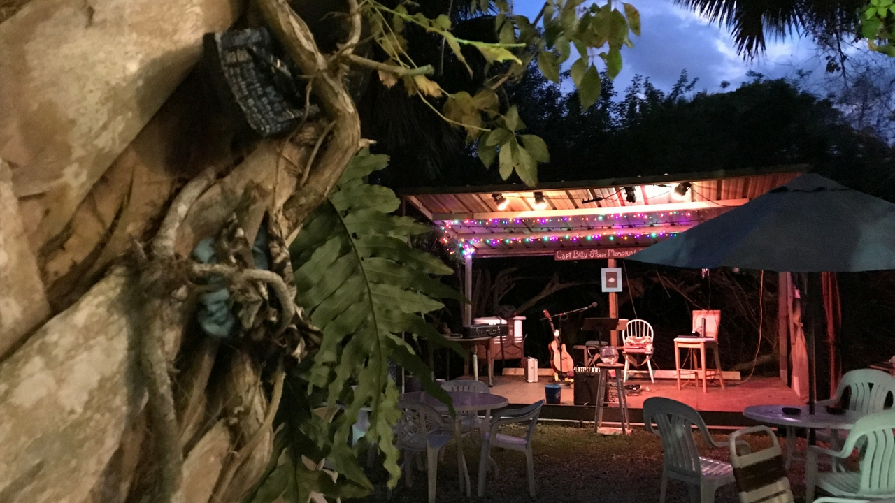 Support Community Performances Such as Bluegrass Night at the Historic Bean Depot in El Jobean, Fla.