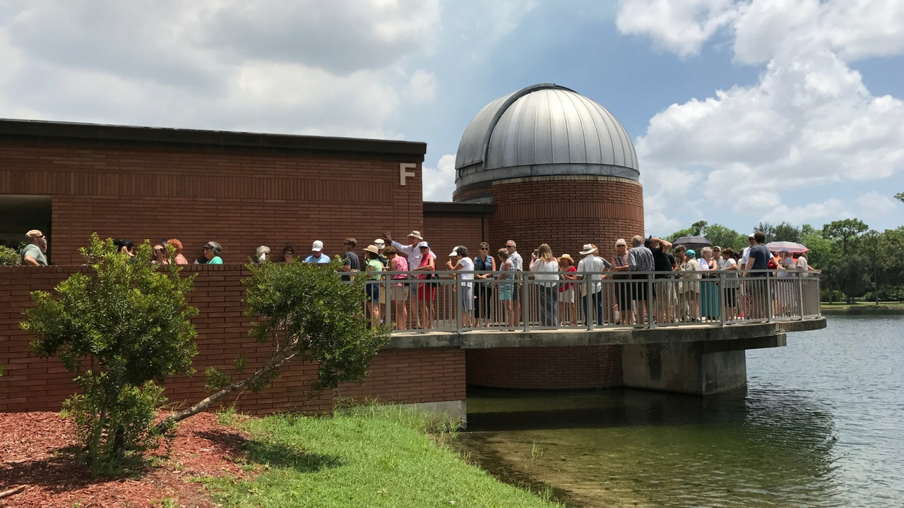 Star Gaze at the James & Barbara Moore Observatory at Florida SouthWestern State College's Campus in Punta Gorda
