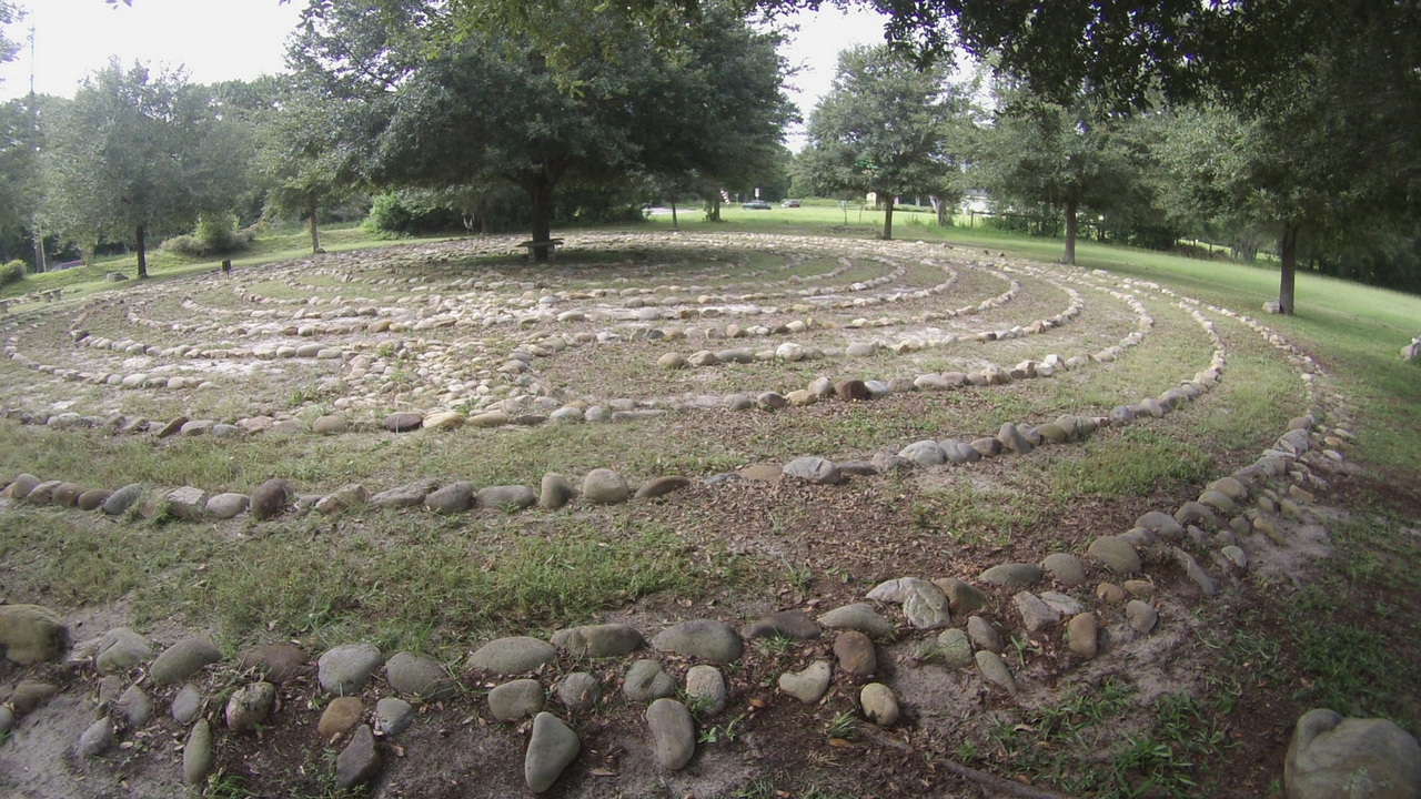 Peace Park Labyrinth in Ocala