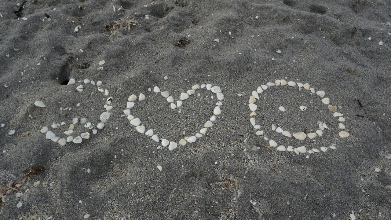 Find Peace. Love. And Happiness at the Beach.