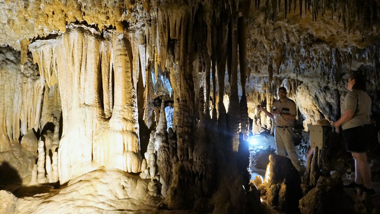 The Amazing Underground Wonderland at Florida Caverns State Park, Marianna, Fla., May 2018.