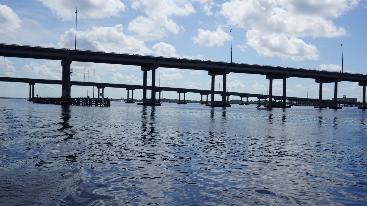 Peace River in Punta Gorda, Fla.