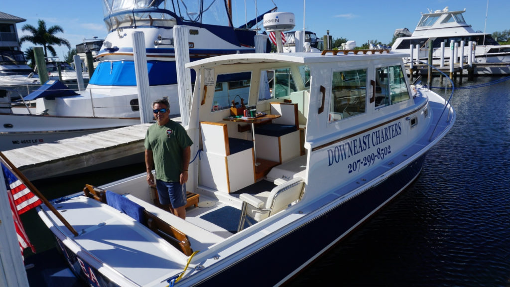 Enjoy Lobster Rolls During a Cruise with Downeast Charters Out of Cape Haze, Fla.