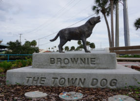 The Legend of Daytona Beach's Brownie the Town Dog