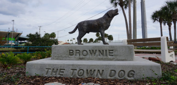 The Legend of Daytona Beach's Brownie the Town Dog