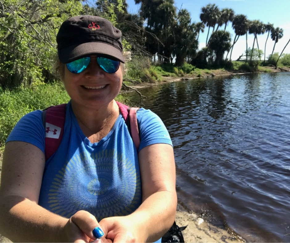 Me and the Alligators at Deep Hole, Myakka River State Park, Sarasota, Fla.