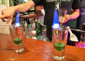 Should a Solo Female Traveler Drink Absinth?