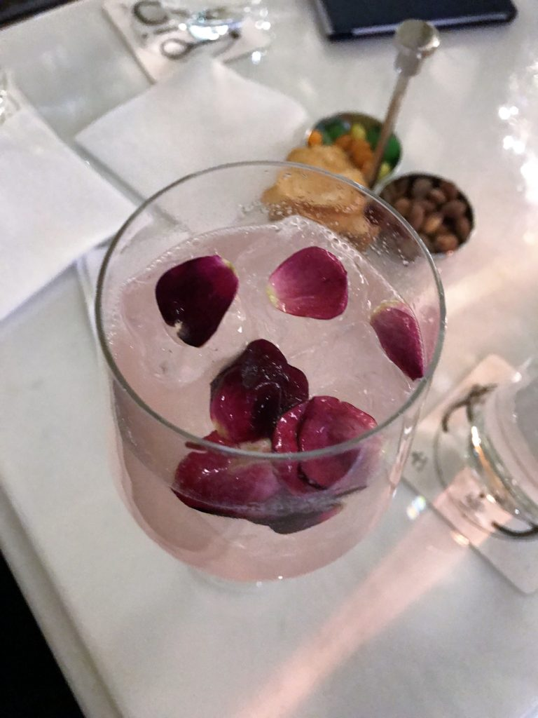 The Belle of the Congress Drink, $27 at Trump International Hotel, Washington, D.C., March 2019.