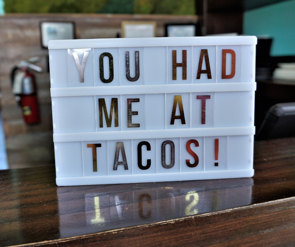 "Cocina 214 Restaurant in Daytona Beach, Fla., ""You Had Me At Tacos!"