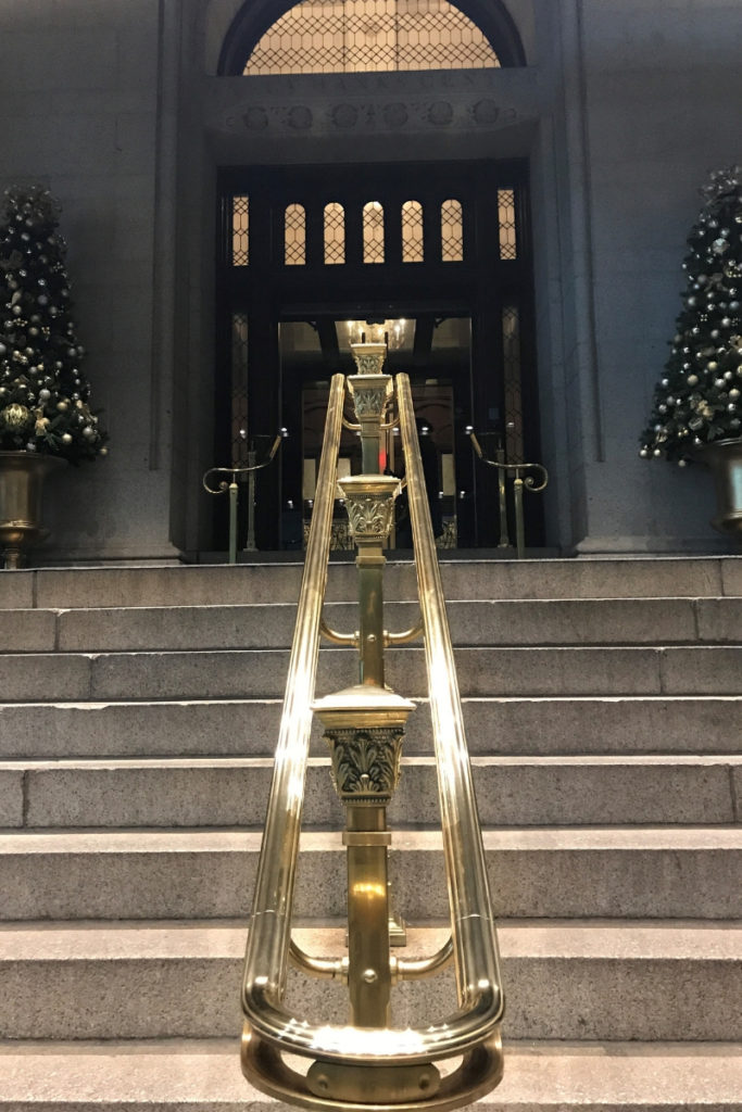 Steps Up to Trump International Hotel in Washington, D.C., Nov. 2018.