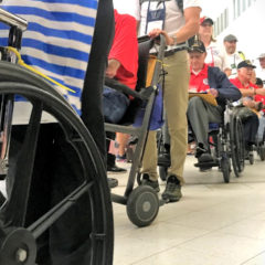 I Witnessed My First Honor Flight Welcome Home Ceremony!