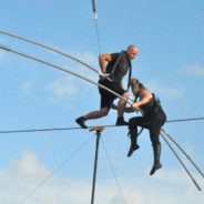 Nik and Lijana Wallenda Trained in Sarasota for ABC's Highwire Live in Times Square