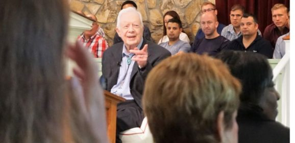 Sunday School with Jimmy Carter