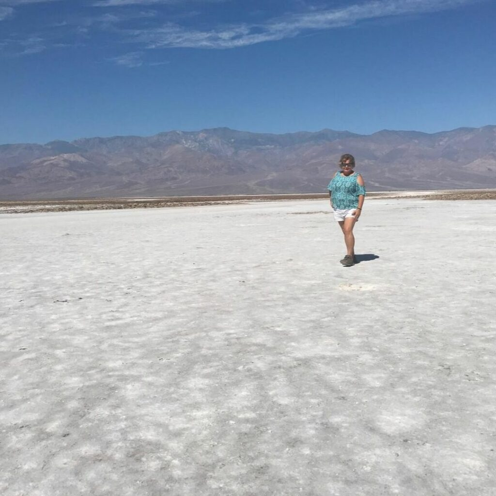 The Temperature Was 110+ at 10 a.m in Death Valley, But I'm Feeling Cool. What You Can't See are the Shinesty Panties.