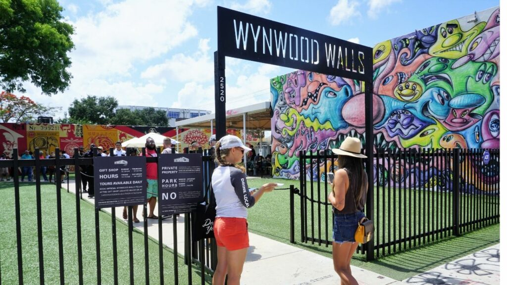 Wynwood Walls in Miami, Fla.