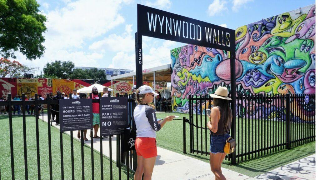 Wynwood Walls in Miami, Fla.