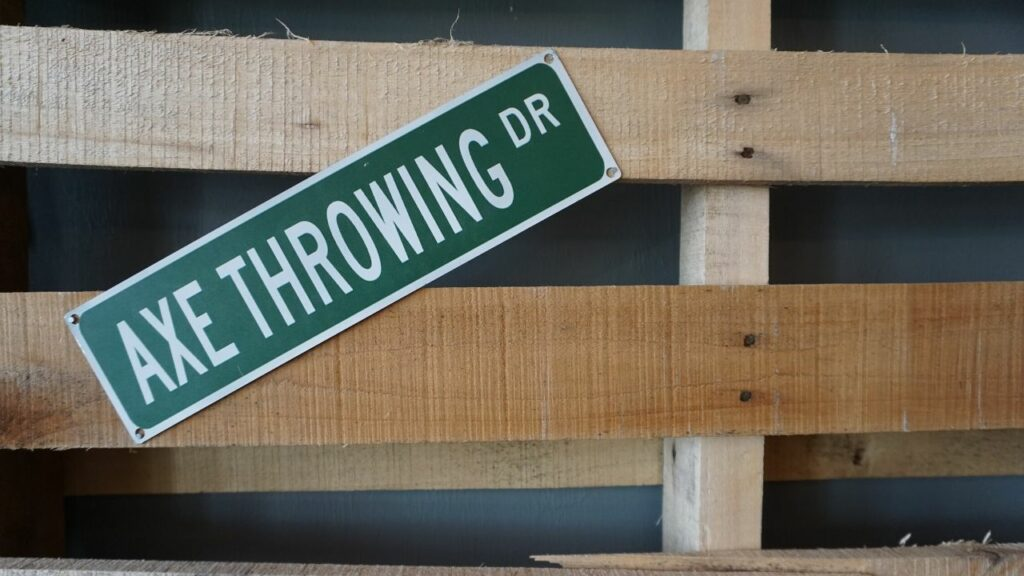 Axe Throwing at TJ's Hatchet Hangout in Cape Coral is One a Fun Place to Play in Southwest Florida.