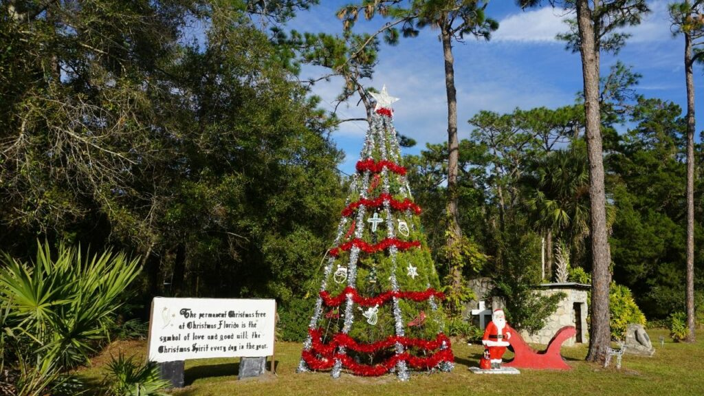 The Permament Christmas Display in Christmas, Fla.
