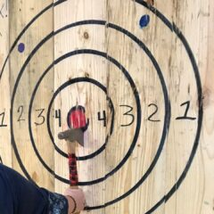 Things to do in North Port, Florida: Axe Throwing at The Axe Haus