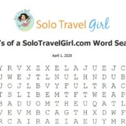 Things to do Under Quarantine: Word Search Wednesday! #2