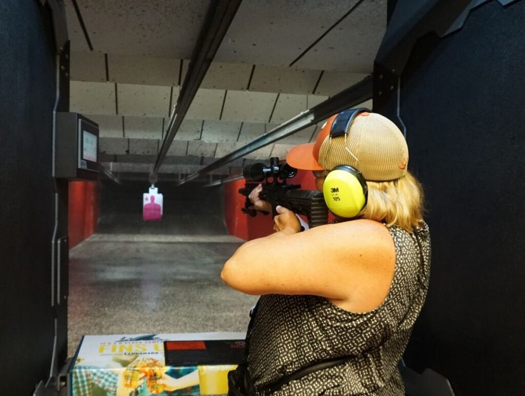 Fire a Variety of Firearms at Volusia Top Gun in Daytona Beach, Fla.