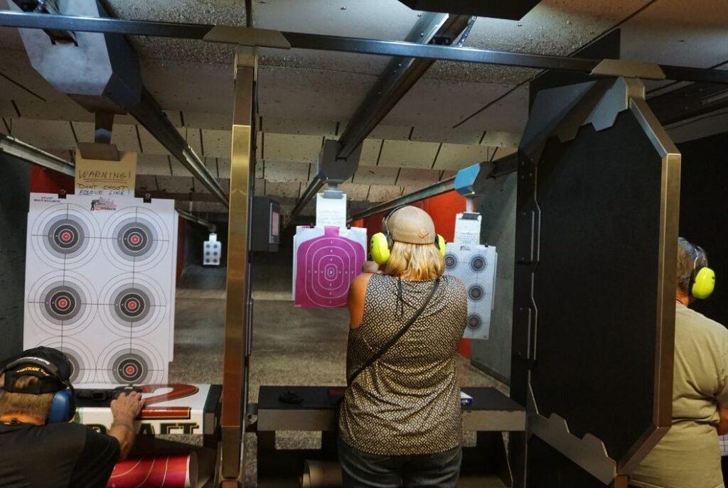 The State-of-the-Art Indoor Gun Range at Volusia Top Gun in Daytona Beach, Fla.