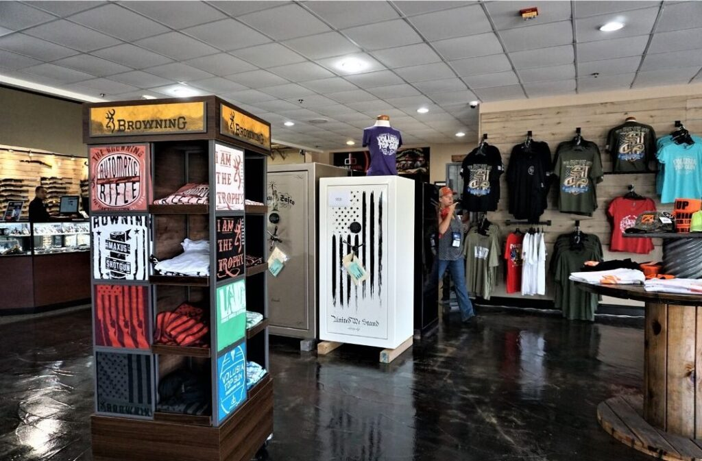 Apparel for Sale at Volusia Top Gun in Daytona Beach, Fla., Sept. 2019