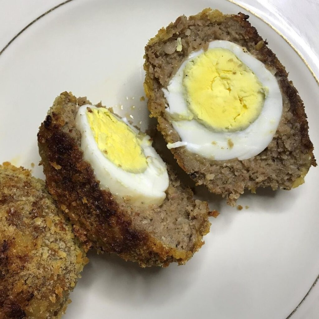 Baked Scotch Eggs are Perfect for a British-Themed Night.