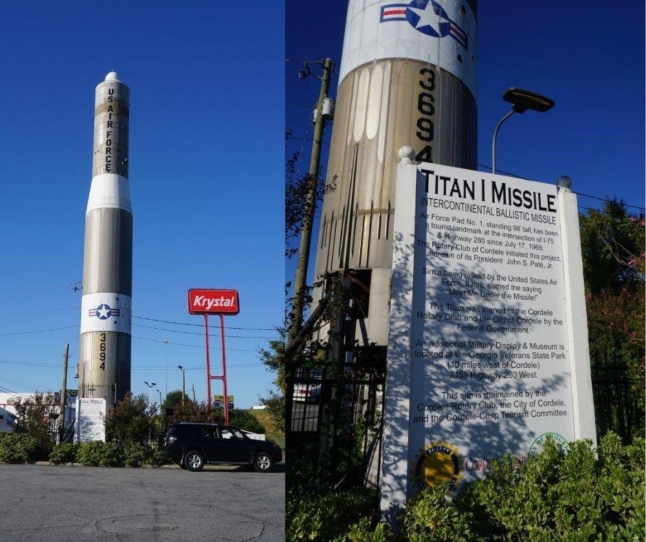 Titan I Missile in Cordele, Ga., Oct. 2020