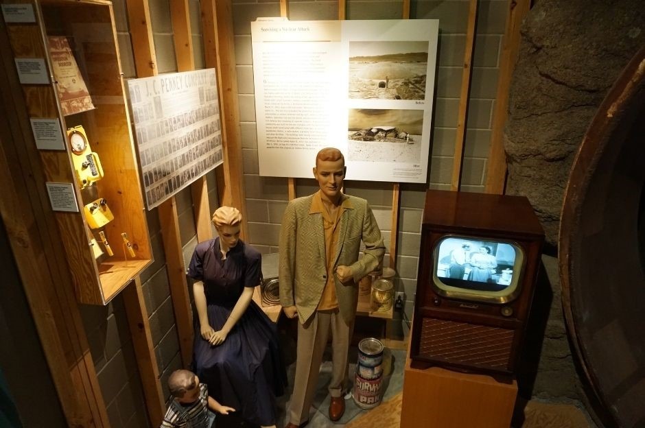 J.C. Penney Company Donated Clothing  Similar to These on the Mannequins and Used During a Detonation at the Nevada Test Site.