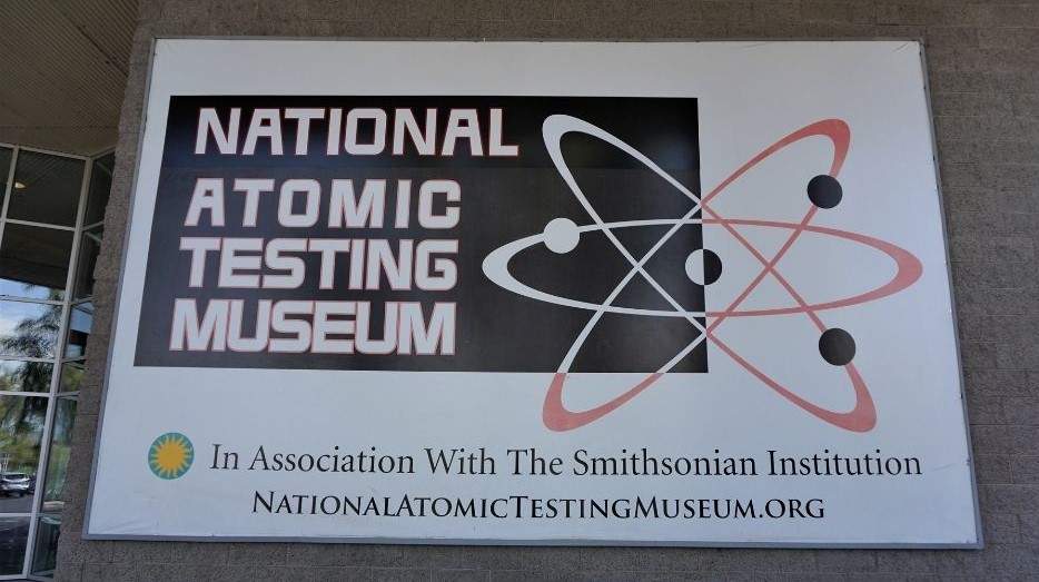 The National Atomic Testing Museum in Las Vegas Opened in 2005.