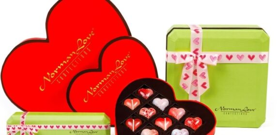 Celebrate Self-Love with Norman Love's 2021 Valentine's Day Collection of Chocolates