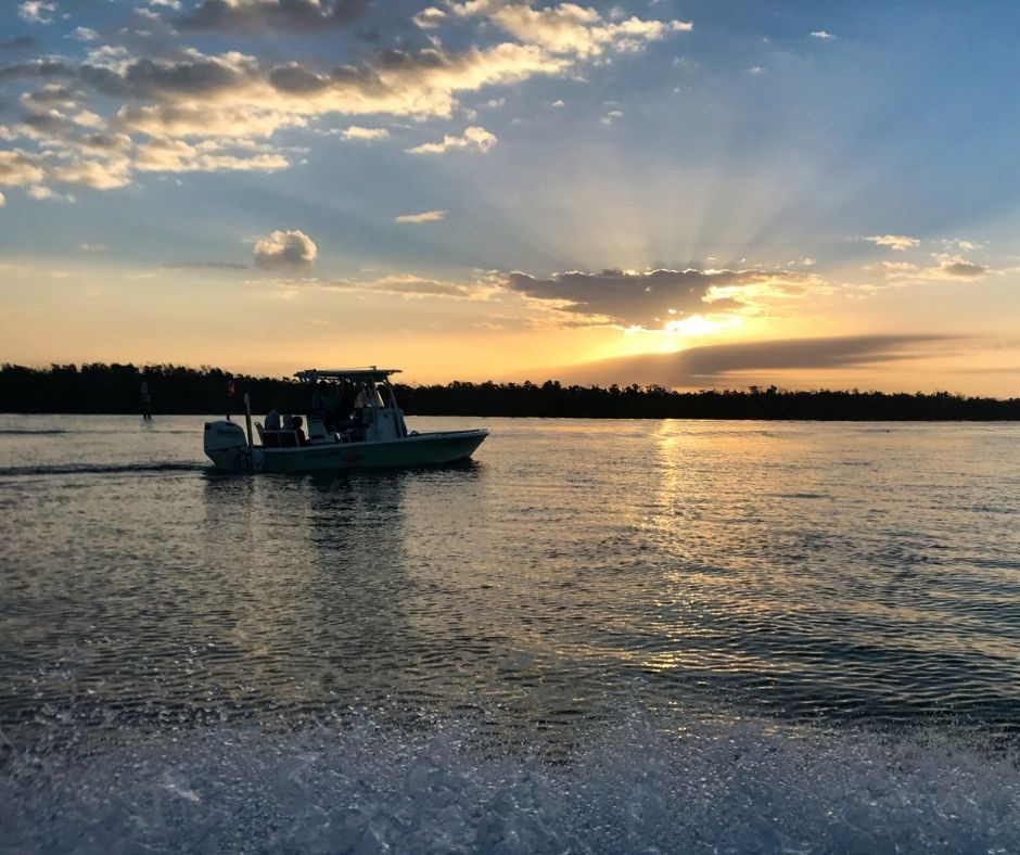 Benefits of a Morning Tour: Watching the Sunrise. Treasure Seekers Shell Tours, Feb. 2021.