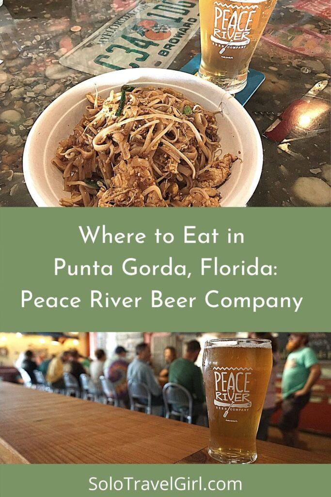 Pin It! Where to Eat in Punta Gorda: Peace River Beer Company.