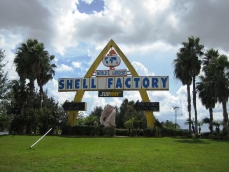 The Shell Factory in North Fort Myers is the World's Largest Shell Factory
